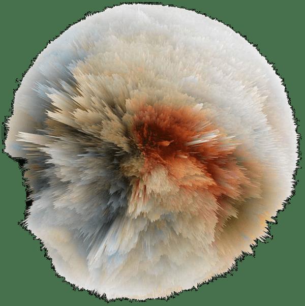 illustration ressemblant à une explosion d'étoile